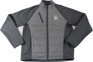 NPDF Hybrid Soft Shell Jacket (Gray) Image