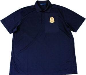 NPDF Badge Golf Shirt Image