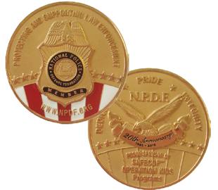 NPDF 20th Anniversary Coin Image
