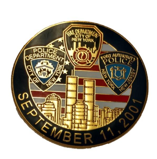 9//11 Memorial Pin Image