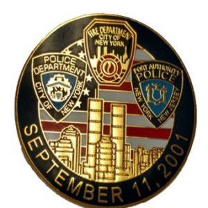 9/11 Memorial Pin
