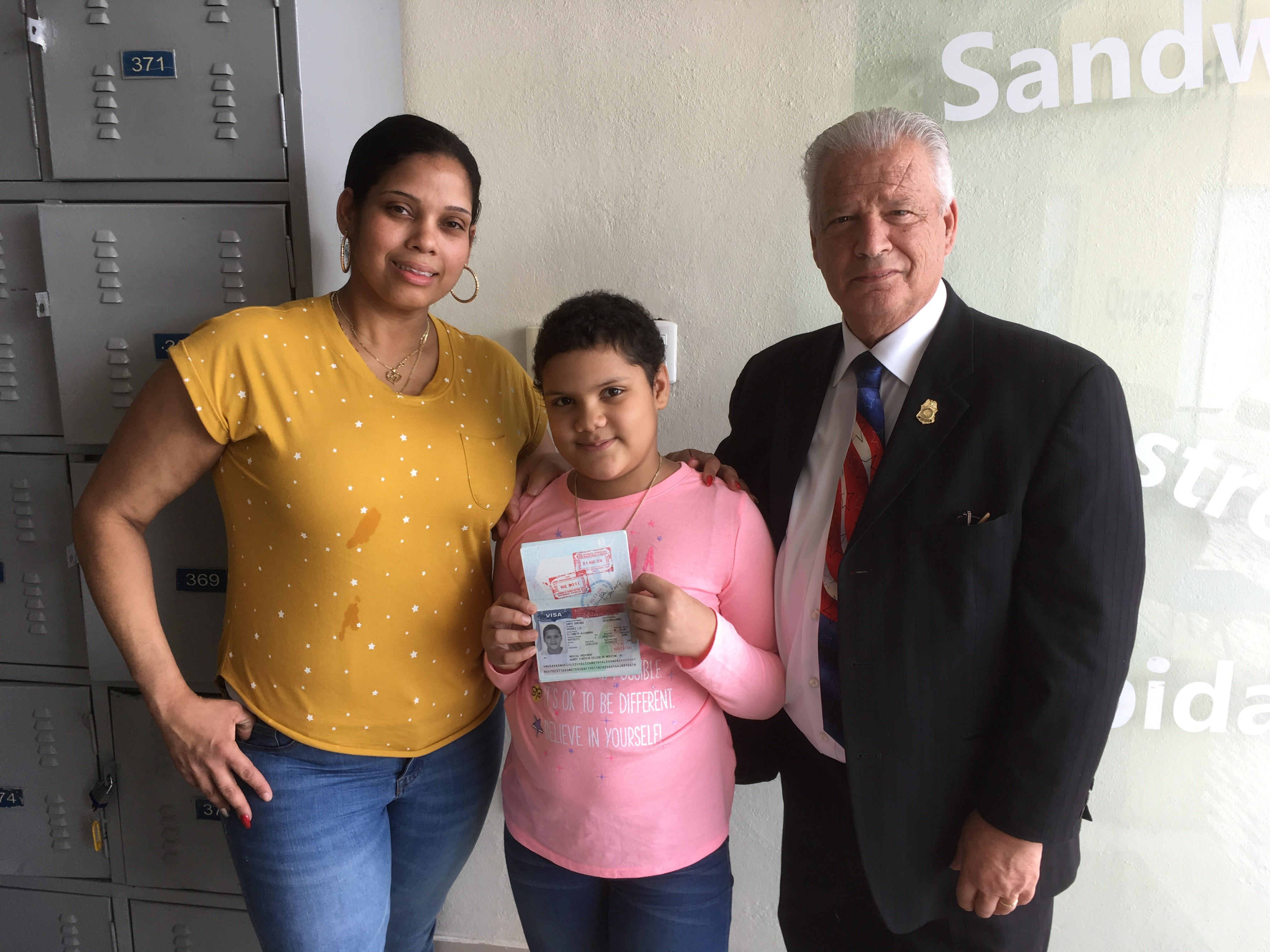 American consulate issues humanitarian visa for 11-year-old