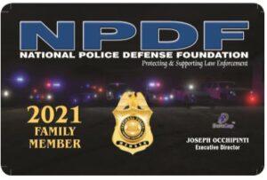 2021 NPDF Family Member Card Image
