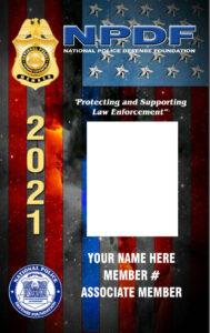 2021 NPDF Photo ID Card Image