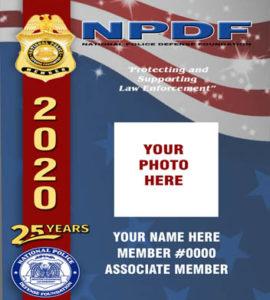 $30 2020 NPDF Photo ID